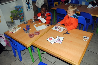 Lambton Pre-school children class, in Lambton, Germiston.