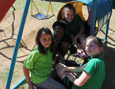 Jungle Gym playground at Lambton Pre-school and Aftercare, in Lambton, Germiston.